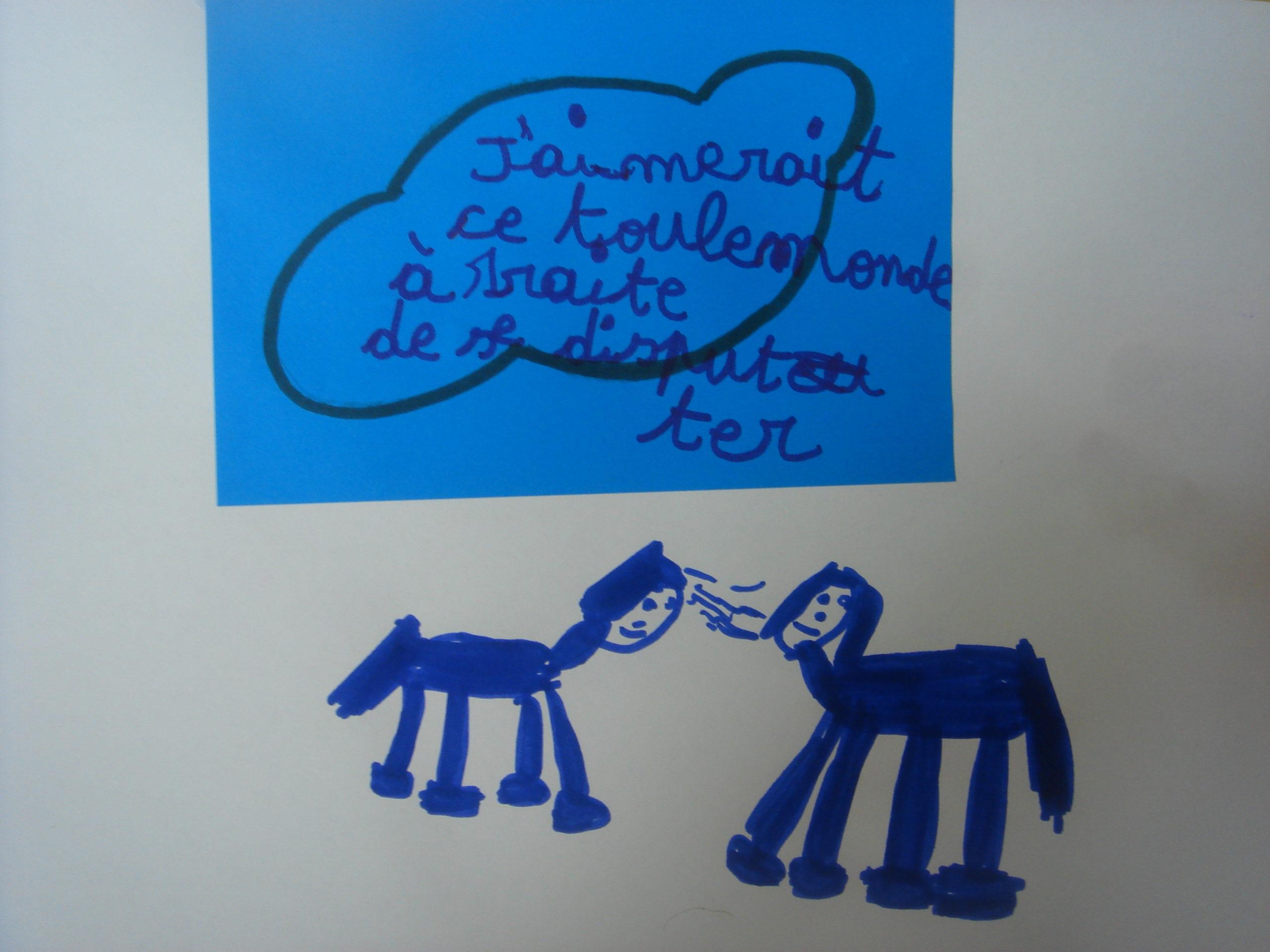 Utiliser le conte Petit Poney Bleu pour savoir comment communiquer avec mon enfant. Marie-Alice Compté vous explique l'importance de se dépasser